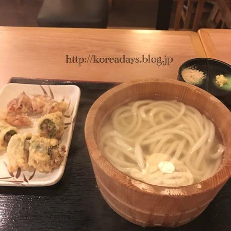 明洞の丸亀製麺に行ってみた。