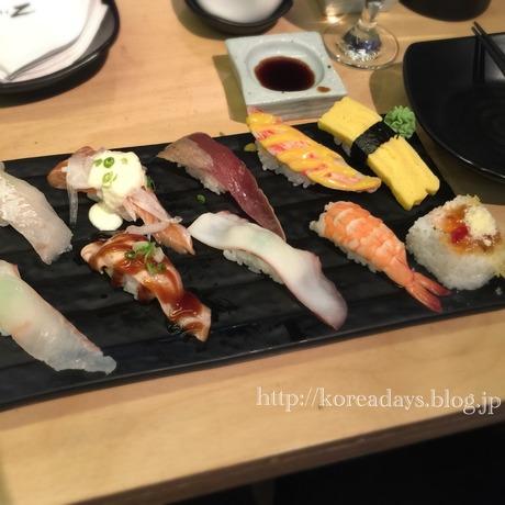 SushiZでランチ♪