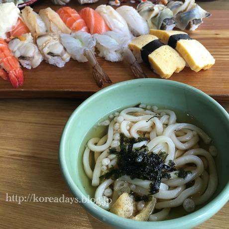 韓国の寿司に慣れて来た・・