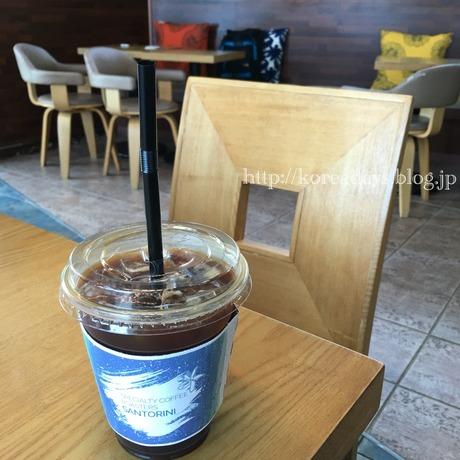 カンヌンコーヒー通りのカフェでまったり。
