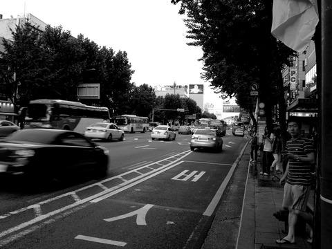 韓国外換銀行鐘路支店前バス停留所