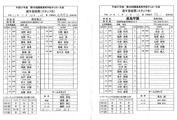 関東予選決勝メンバー表20150531-1