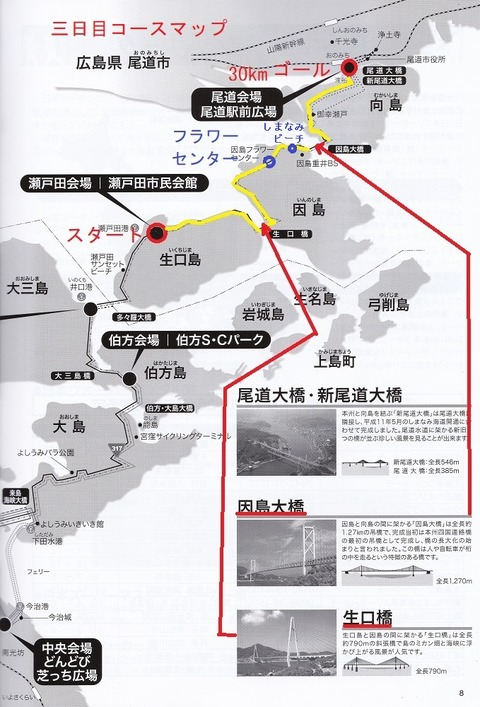 三日目コースマップ