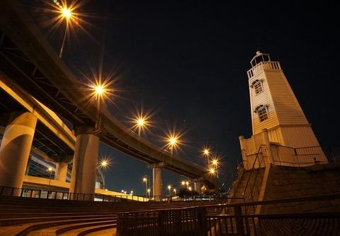 上野①高速燈台(旧堺港)