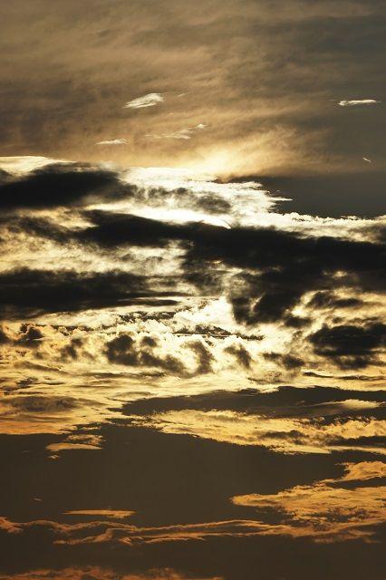 上野⑤隠れる夕陽(白崎海岸)