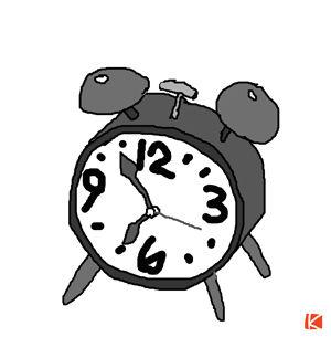 目覚し時計-s