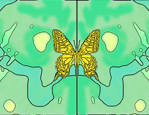 黄色い蝶-s