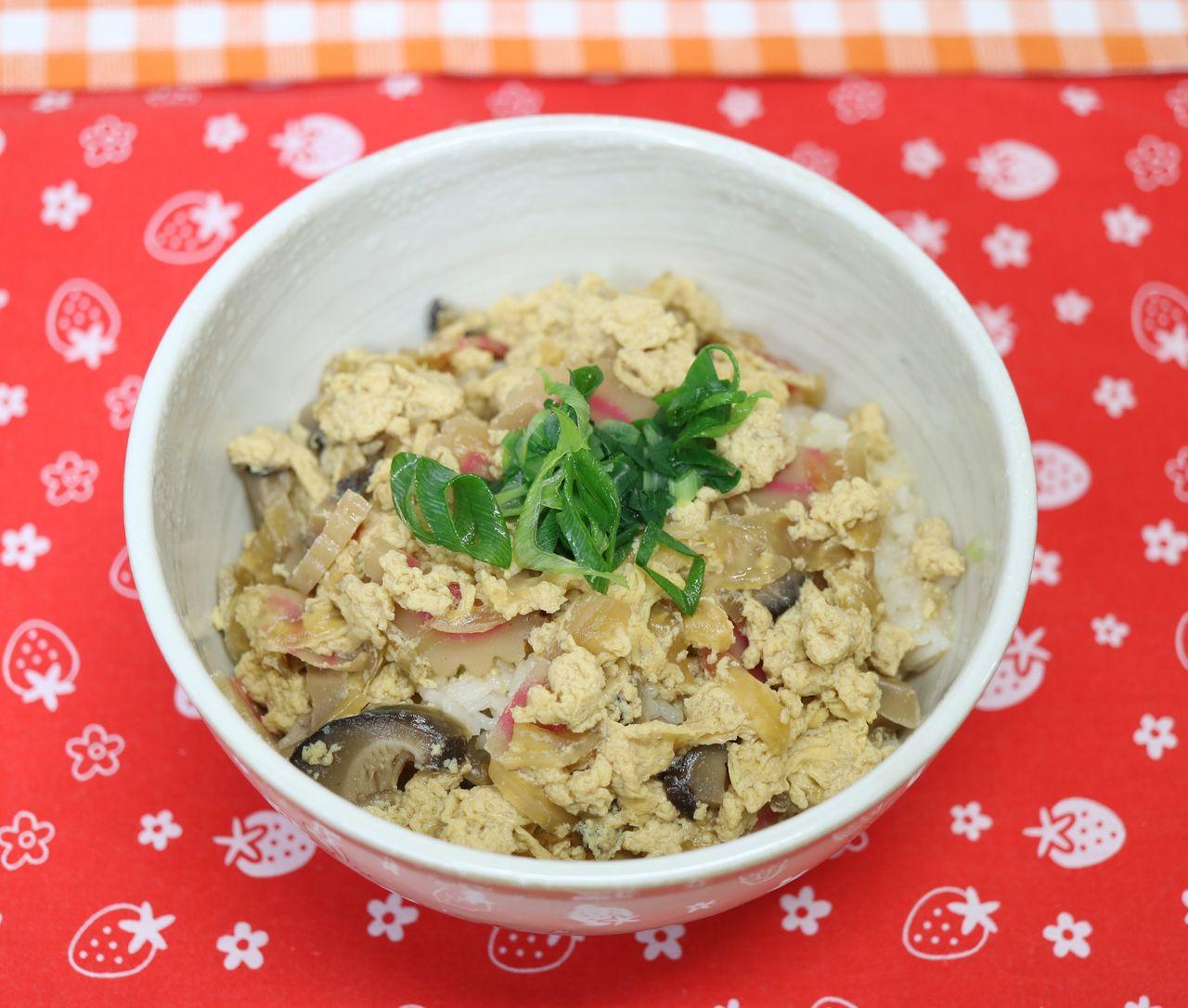 レシピ 木の葉 丼