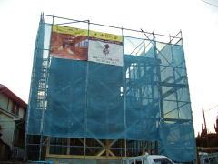 「木成りの家」上棟in栄区