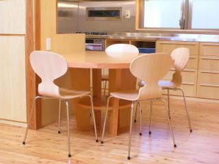 K邸造作キッチン椅子