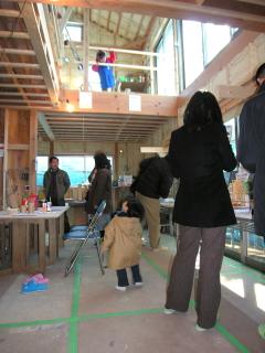 藤沢木成りの家見学会