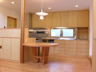K邸造作キッチン