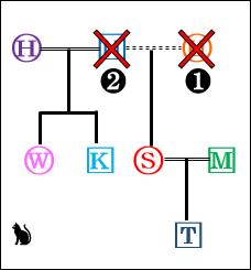 ジェノグラム03(父の相続・原則)