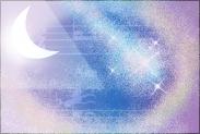 月明かり紫