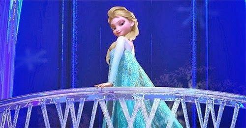 アナと雪の女王のエルサのどや顔