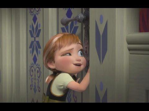 アナと雪の女王の子供の頃のアナ1