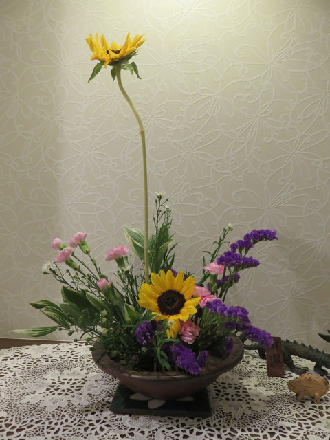 5月「2回目のお花」・・・
