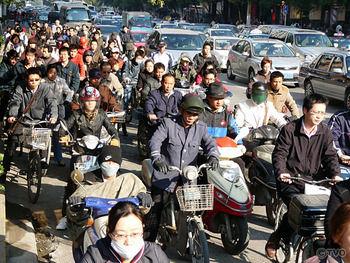 中国人 自転車