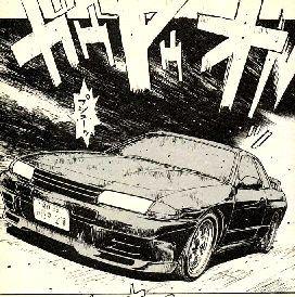SkylineGT-R(頭文字D)
