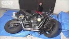 パトカーが追跡していたバイクが衝突 少年死亡