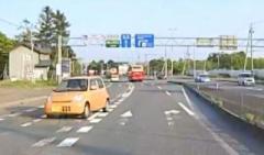 パトカーが追跡の車 国道を1キロ以上逆走し逃走 北海道