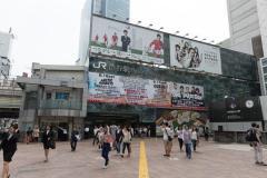 渋谷駅で全裸の女性が疾走?渋谷署が保護「事件性は無い」