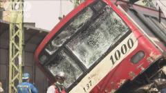 トラック運転手とみられる男性死亡 京急線衝突事故