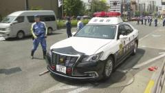 4歳の男児 緊急走行のパトカーにはねられ意識不明 東京