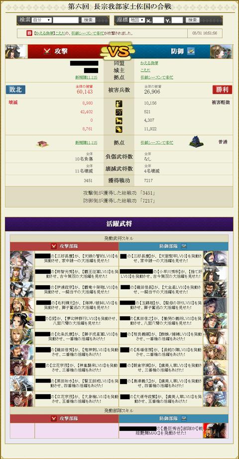 安東家盟主戦9