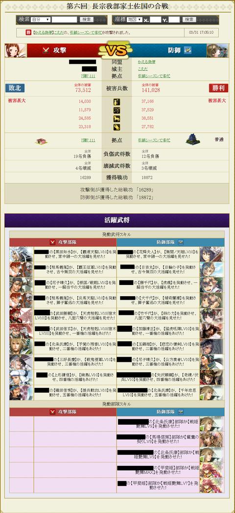 安東家盟主戦12