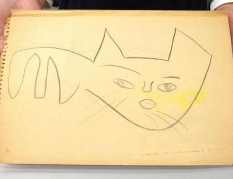 クロネコマークの原案、見つかる! 作者は当時6歳、担当者の娘さん 引き出しに保管「まさか実物が…」