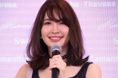 小嶋陽菜、たわわなバストにもたれかかる愛猫の姿を公開しファン「羨ましい」