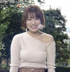 """阿部華也子、「めざまし」でファンの評論会も起きる""""上品バスト""""の膨らみ"""