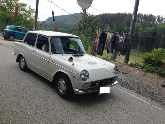 【岡山移住日記 336日目】第1回とと道 Run♪クラシックカーが勢揃い!