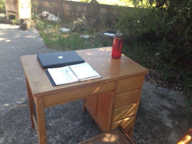 自宅前に、 オフィスを作りました!