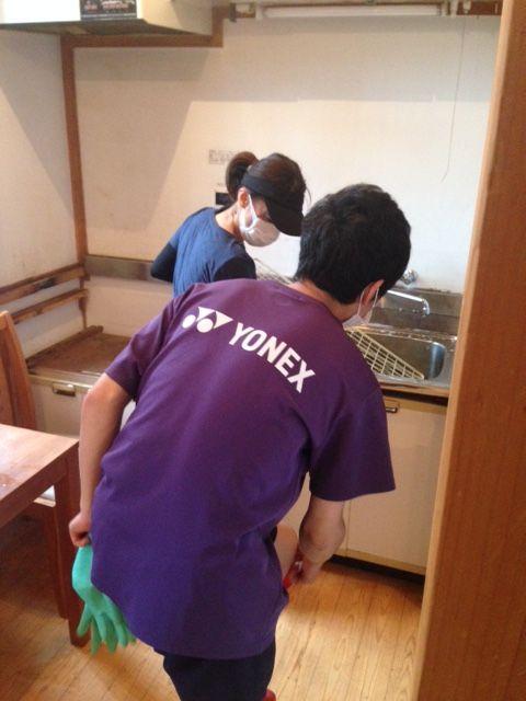 【岡山移住生活 813日目】ゲストハウスの掃除