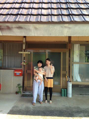 妻の親友 ようちゃんがELEVEN VILLAGE @ 田川宿に泊まりに来る^ー^