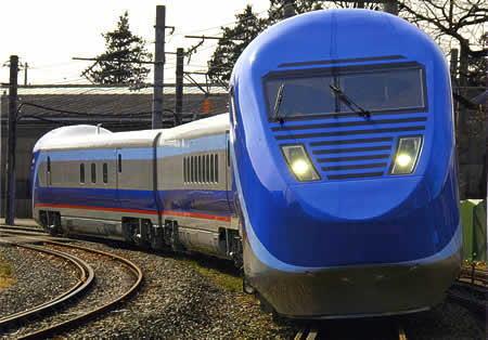 北陸新幹線のフリーゲージトレイ...