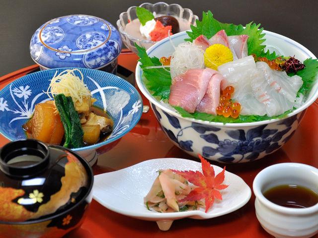 梅千寿)11月限定 海鮮丼定食