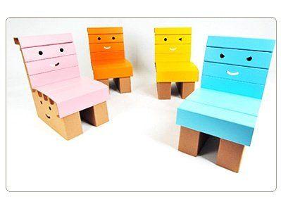 ファニーペーパー_段ボール家具