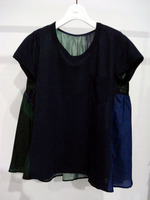 Back Multi Textile Switching T navy1