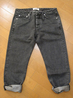 Acne HIP Glitter DENIM1