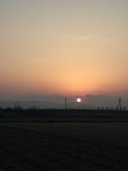 三輪山から日の出 002