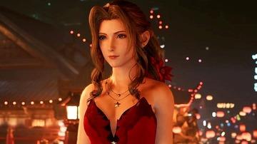 エアリス 赤いドレス