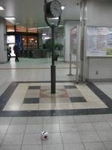 桃谷駅のサイコロ
