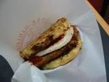 華円さんのハンバーガー
