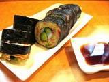 芋蛸さんのお好み焼きの海苔巻き