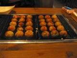 蛸やくしさんのたこ焼きとチーズたこ焼き