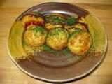 桃蛸さんのカレーチーズたこ焼き