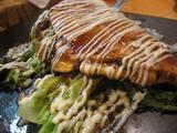 芋蛸のネギ焼